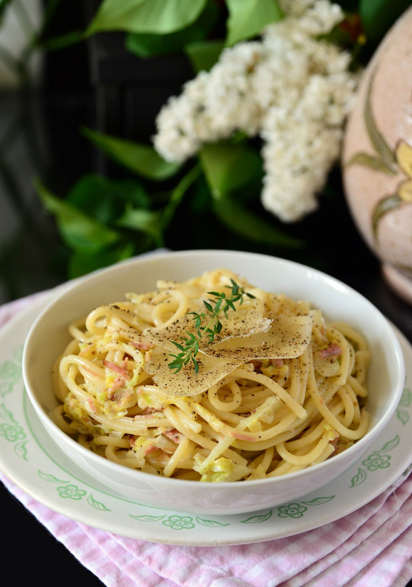 kaposztas spagetti