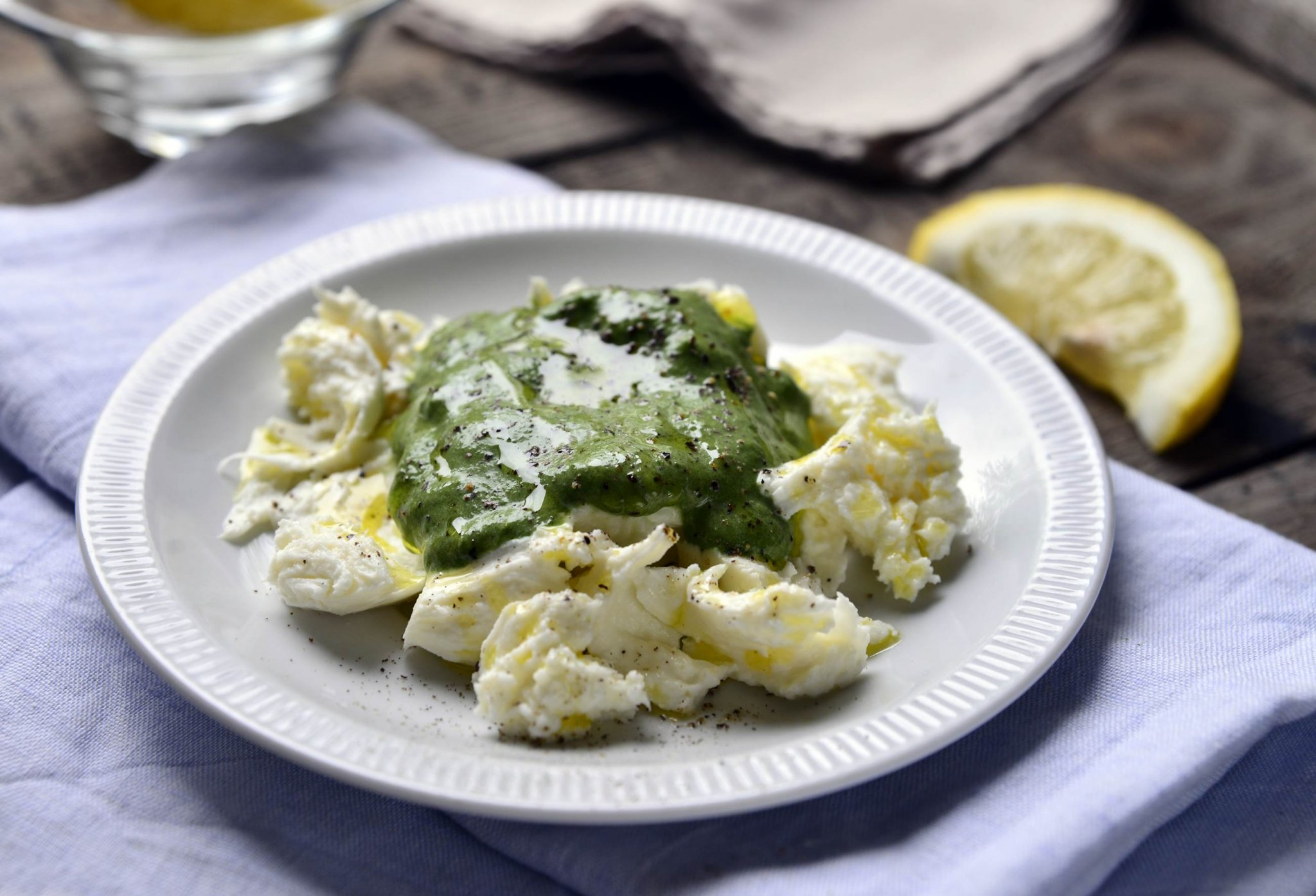 mozzarella spenot martassal